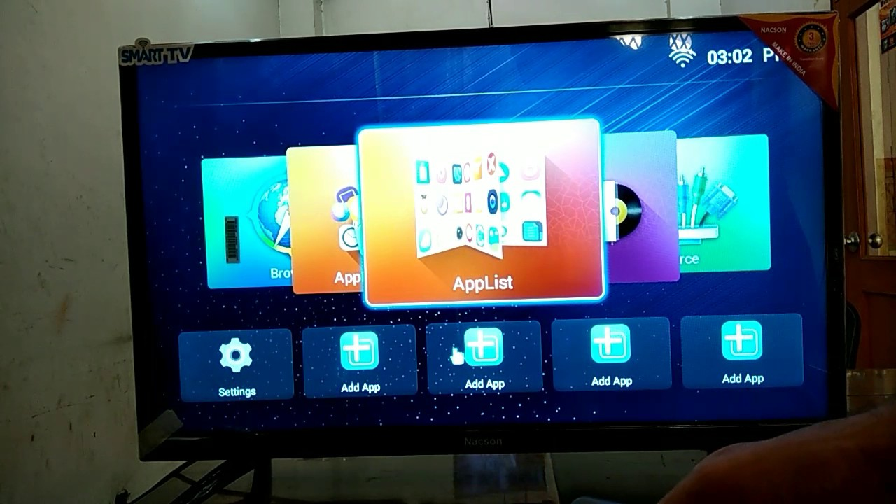 2514b73cba3 India s top selling tv Nacson 32 inch Smart LEd TV in Samsung panel with  android os with eshare