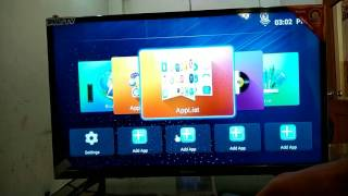 India's top selling tv Nacson 32 inch Smart LEd TV in Samsung panel with android os with eshare