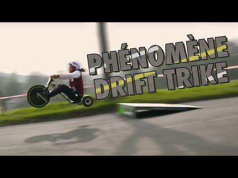 Phénomène Drift Trike : le tricycle de l'extrême - #RidingZone