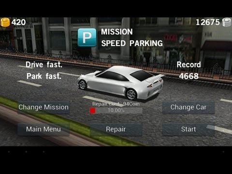 Dr Driving Android Game- Speed Parking Mission