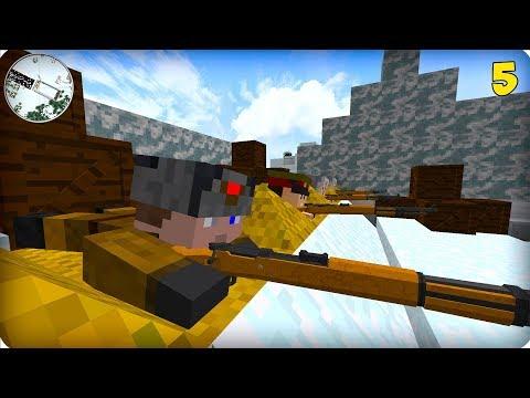 видео: Вторая Мировая Война [ЧАСТЬ 5] Call of duty в Майнкрафт! - (Minecraft - Сериал)