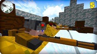 Вторая Мировая Война [ЧАСТЬ 5] Call of duty в Майнкрафт! - (Minecraft - Сериал)