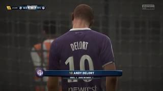 Video Gol Pertandingan Strasbourg vs Toulouse FC