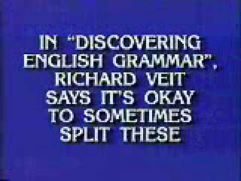"""Discovering English Grammar"" on Jeopardy!"