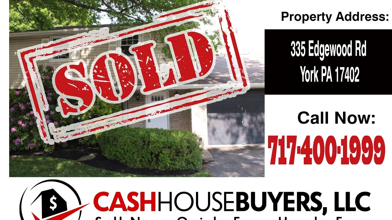 TESTIMONIAL We Buy Houses York PA | CALL 717 400 1999 | Sell Your House Fast York PA