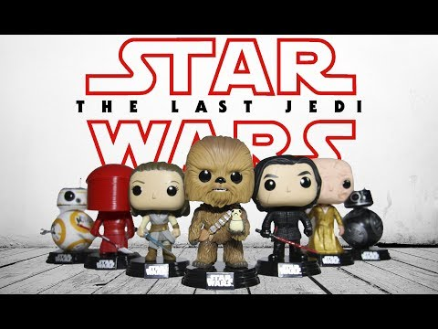 STAR WARS The LAST JEDI Funko Pops Review Full Collection | Movie Toys
