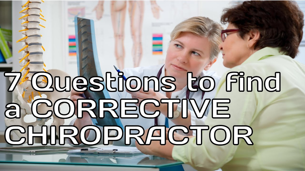 How to find a Corrective Chiropractor