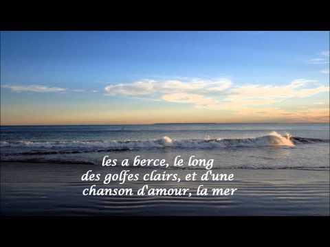 La Mer ~ Francoise Hardy (HD, HQ) with French lyrics