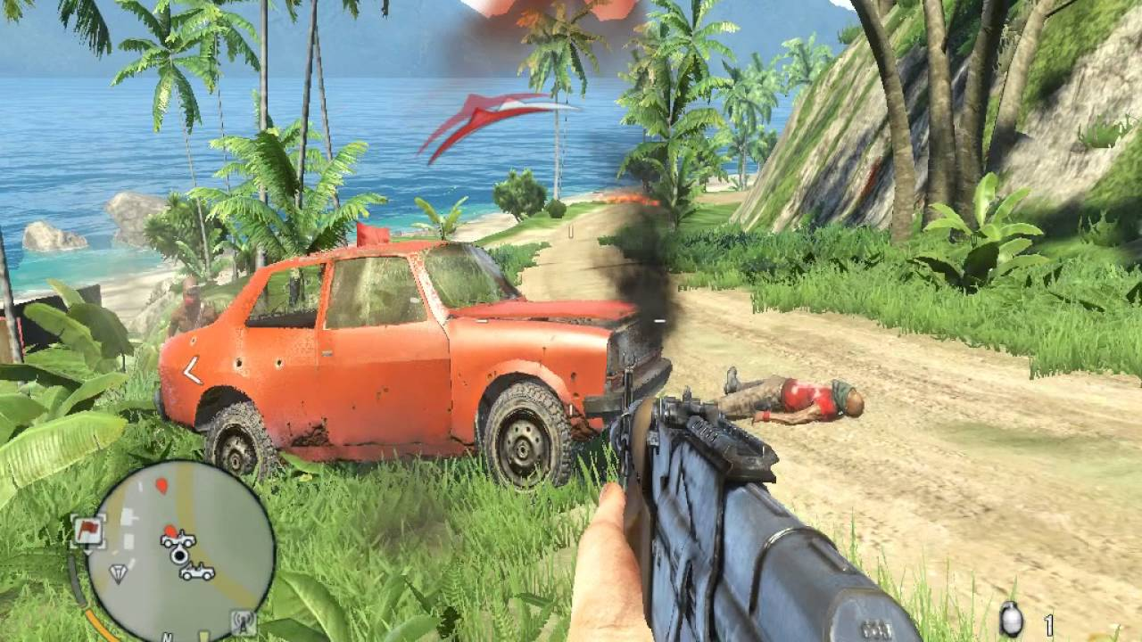 Far Cry 3 Low End Pc 9400 Gt 1gb Gameplay Youtube