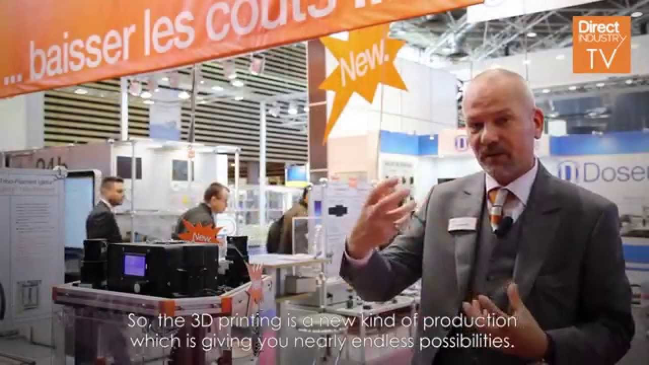 Industrie Lyon 2015: Interview with Igus