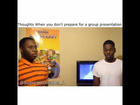 Thoughts when you didn't prepare for the group presentation by  RDCworld1/SupremeDreams_1