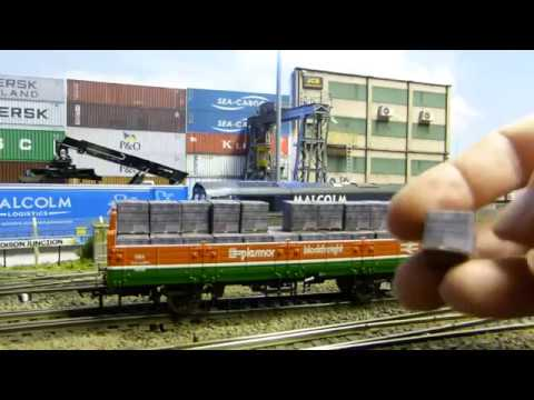 Building A Model Railway – Scenics (Wagon Load Ratchet Straps)
