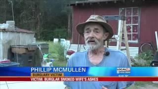 Victim: Burglar Smoked Deceased Wife