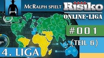 RISIKO | Multiplayer #001 (Teil 6) | Weltherrschaft im ersten Spiel! |  Let's Play Risk [deutsch]