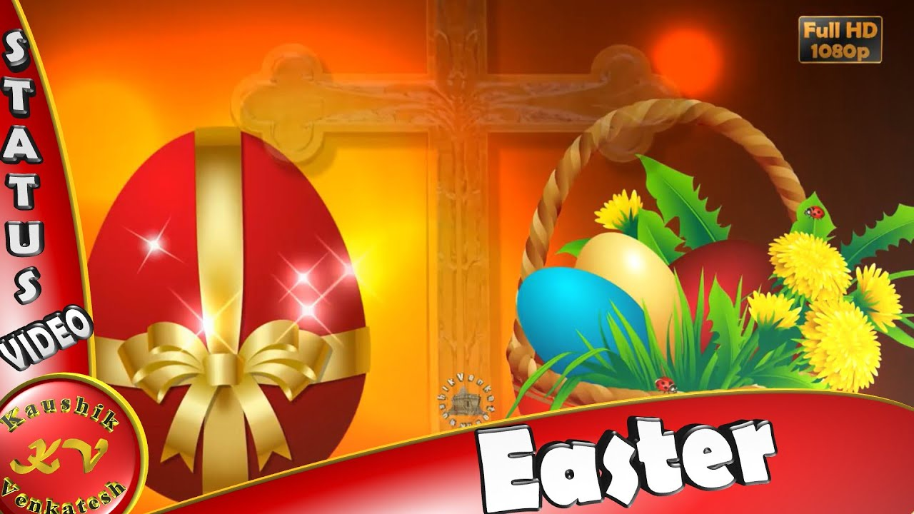 Happy Easter 2018wisheswhatsapp Videogreetingsanimationmessages
