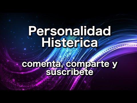 Personalidad Histerica