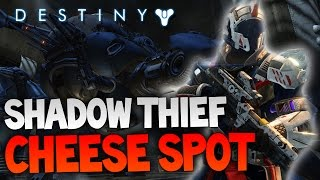 "Destiny - The Shadow Thief Strike Cheese Spot! | ""Wolf Walker"" Cheese Spot"