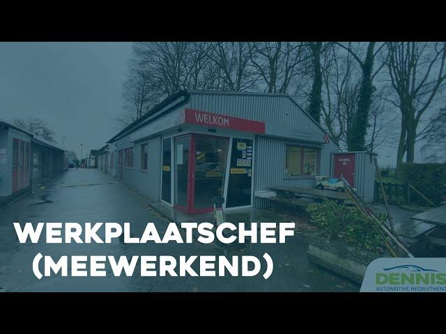 Werkplaatschef (Meewerkend) vacature bij Vakgarage Lamme in Loosdrecht | #1806