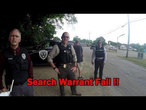 Search Warrant Fail