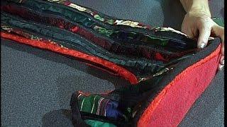 Шьем высокие лоскутные сапоги используя текстильные остатки. Мастер класс. Татьяна Лазарева