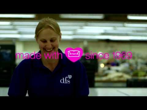 DFS made with love - Watch and discover what goes into making our sofas
