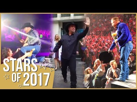 How Garth Brooks Surprised Fans With These Heartwarming Moments in 2017