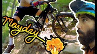COULD YOU SURVIVE THIS CRASH? // The Singletrack Sampler