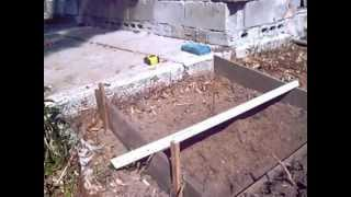 Building A Small Concrete Ramp