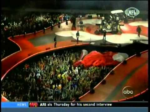 Rolling Stones live 2005 Super Bowl start me up