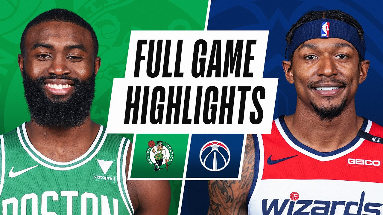 CELTICS at WIZARDS | FULL GAME HIGHLIGHTS | February 14, 2021 - NBA