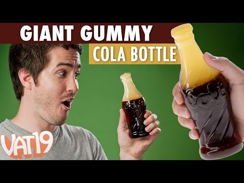 Thumbnail: Giant Gummy Cola Bottle
