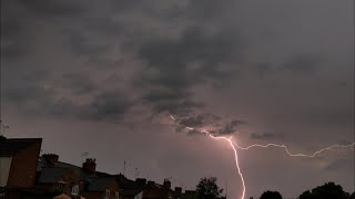 Strong UK Thunderstorm (Possible Supercell) (27/05/18)
