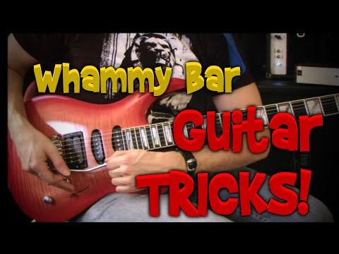 Tremolo Tricks For Guitars With Whammy Bars