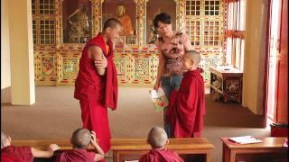 Taiwan volunteer teachers from Seed Education Foundation teach in Jonang Monastery summer 2008