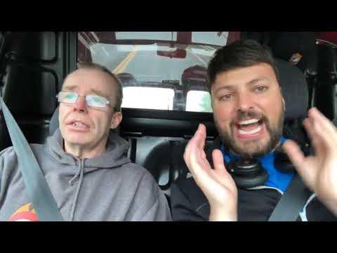 Levi Jensen & Daniel Haddal - på vei til Drøbak