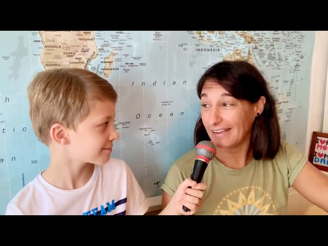 Lootie's Run Around The World - Interview before the start