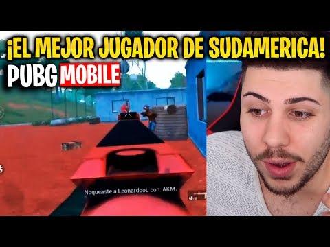 ¡EL MEJOR JUGADOR DE SUDAMÉRICA EN PUBG MOBILE!
