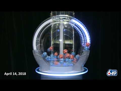 Lotto 6/49 Draw April 14, 2018