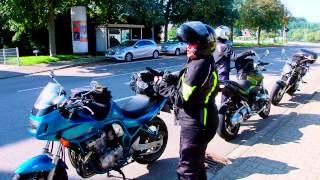 Motorrad umgefallen