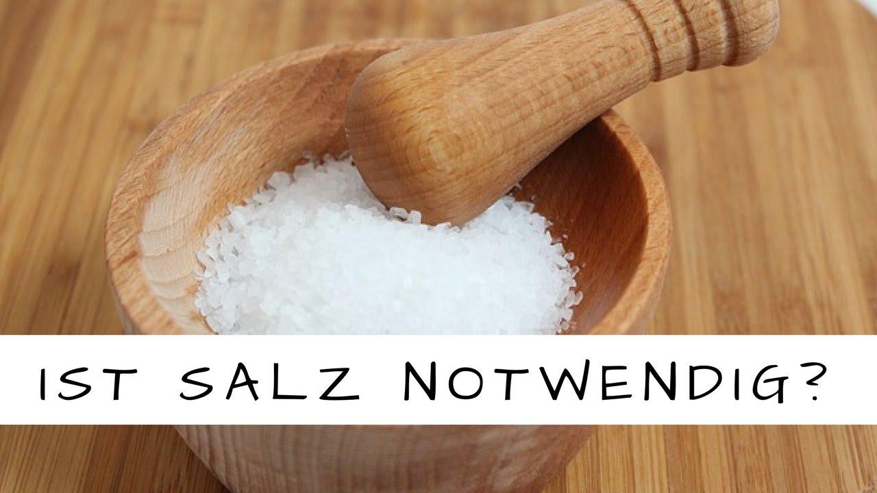 Ist Salz wirklich lebensnotwendig?