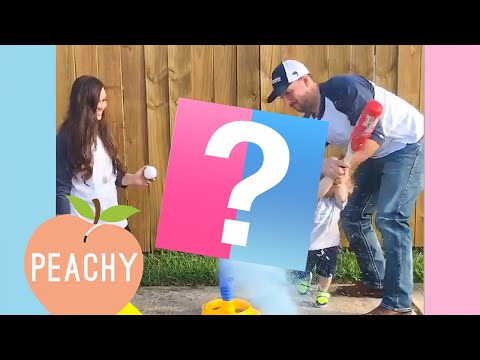 """Gender Reveal Fails That'll Make You Say, """"Sorry, But It's Funny!"""""""