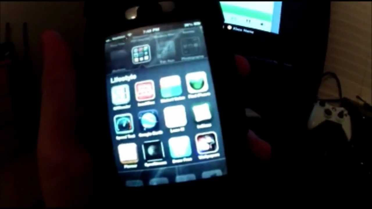 How to: play music from your Iphone to your Xbox 360 WIRELESS - YouTube
