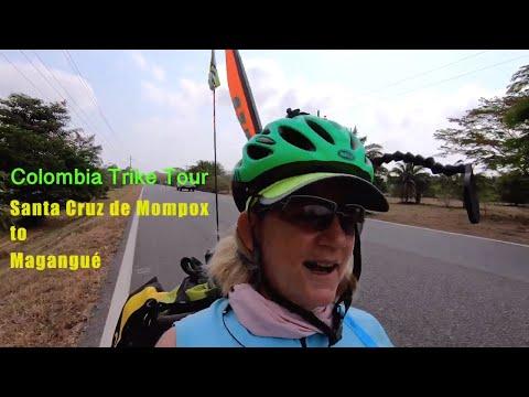 Colombia Trike Tour - Santa Cruz De Mompox To Magangué