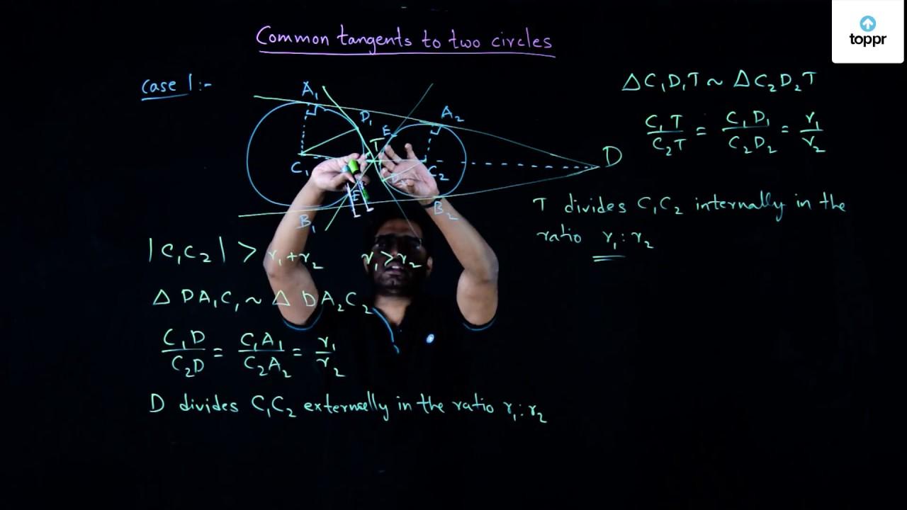 Tangent to a Circle: Formulas, Properties, Theorems