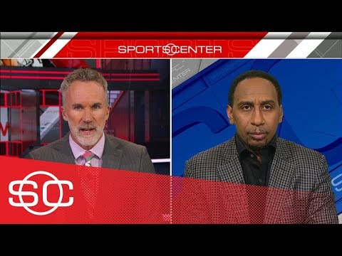 Stephen A Smith: Im never putting LeBron James above Michael Jordan  SportsCenter  ESPN