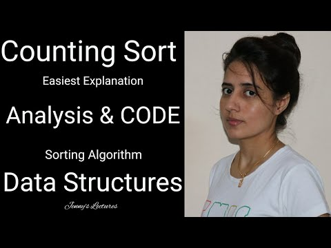 Counting Sort algorithm (analysis and code)- Easiest explanation | data structure thumbnail