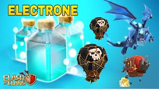 NEW ELECTRONE ATTACK ! TH10-12 OP ATTACK STRATEGY | CLASH OF CLANS INDIA |