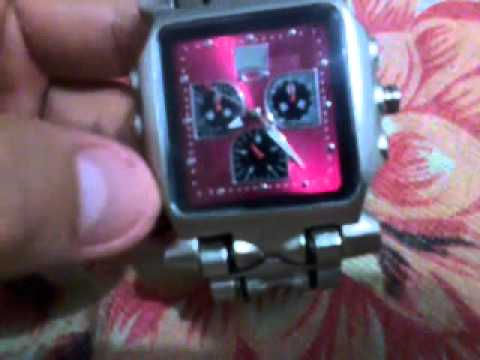 b72d62a6273 Relogio Oakley Tank Minute Machine Réplica - YouTube