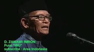 Puisi Terbaik D Zawawi Imron IBU