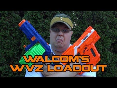 Walcom's First HvZ Blaster Loadout | Walcom S7